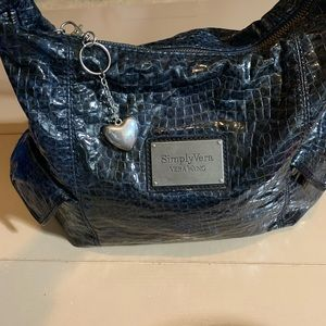 Vera Wang blue shoulderbag 14 by 10
